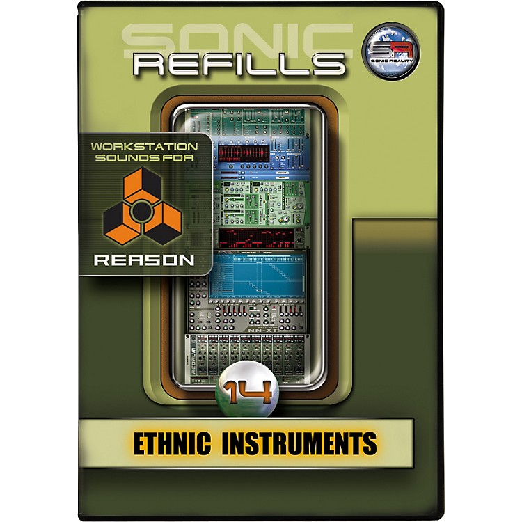 Sonic RealitySonic Refill for Reason Volume 14 - Ethnic Instruments