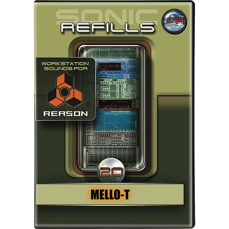 Sonic Reality Sonic Refill for Reason Volume 20 - Mello-T