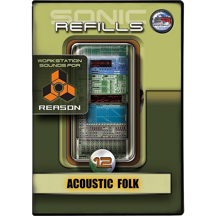 Sonic RealitySonic Refills for Reason, Volume 12 Acoustic Folk
