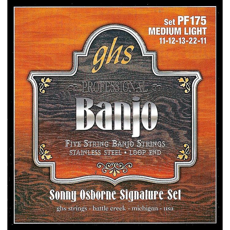 GHSSonny Osborne Signature Banjo Strings Medium Light