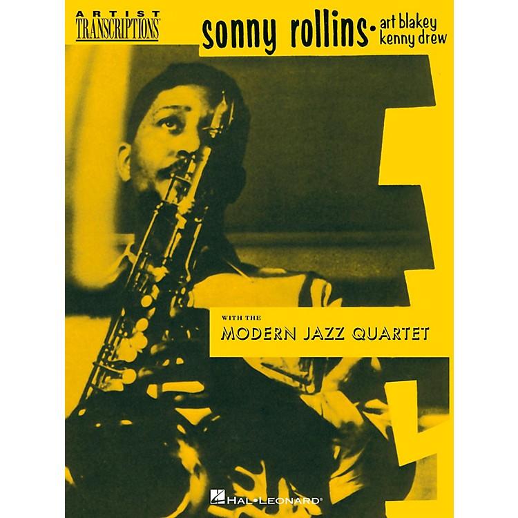 Hal LeonardSonny Rollins With The Modern Jazz Quartet