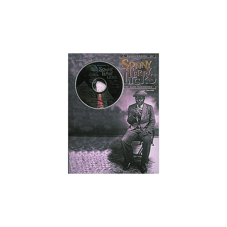 Centerstream PublishingSonny Terry Licks For Blues Harmonica (Book/CD)