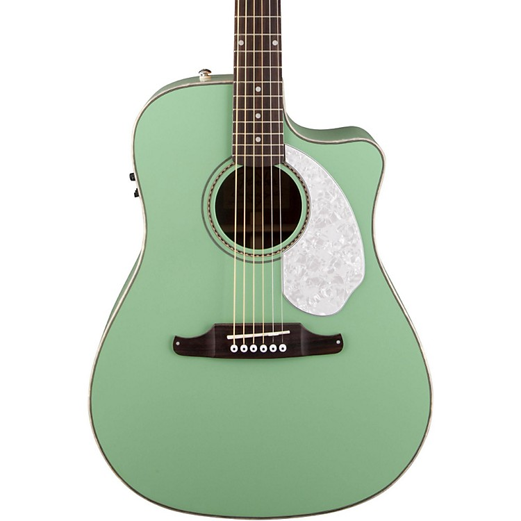 FenderSonoran SCE Acoustic-Electric GuitarSurf Green