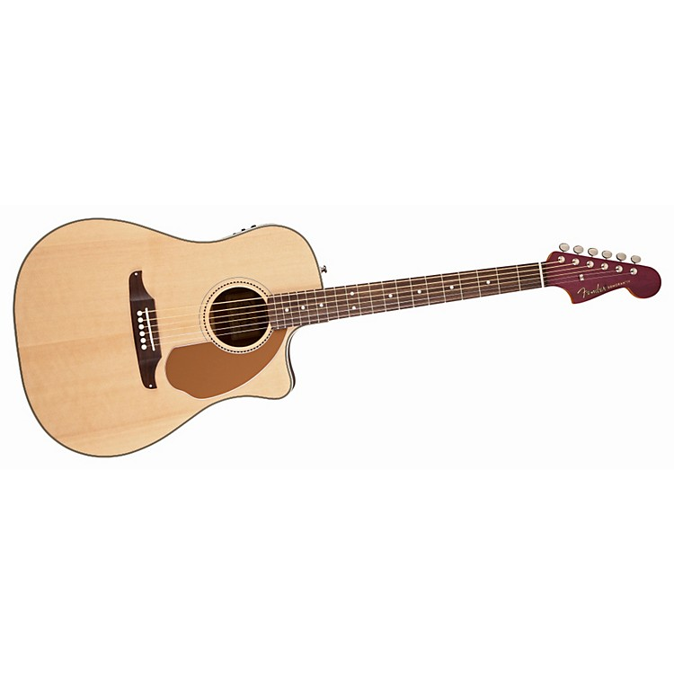Fender Sonoran SCE Wildwood IV Acoustic-Electric Guitar Natural