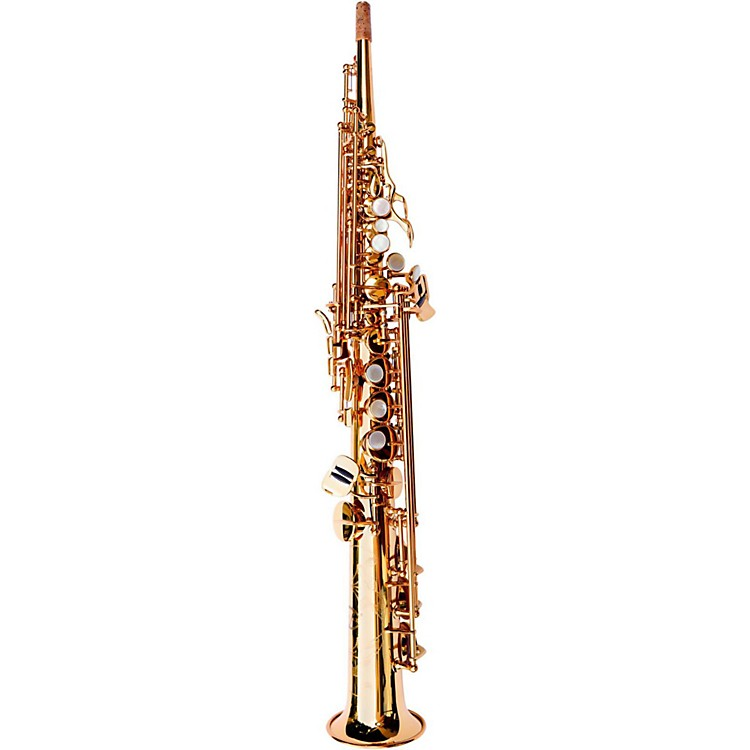 MACSAX Soprano Saxophone Honey Gold Lacquer