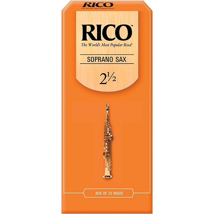 Rico Soprano Saxophone Reeds, Box of 25 Strength 3