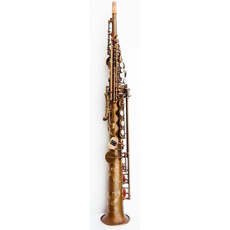 MACSAXSoprano SaxophoneVintage Bare Brass