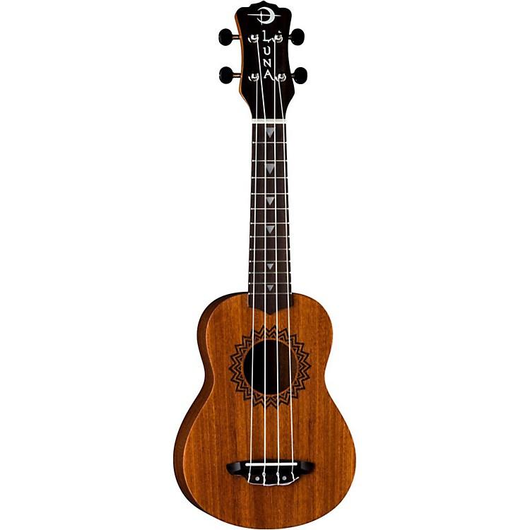 Luna GuitarsSoprano Vintage Mahogany UkuleleNatural