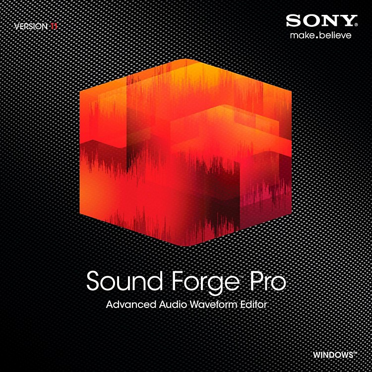 Sony Sound Forge Pro 11 Software Download