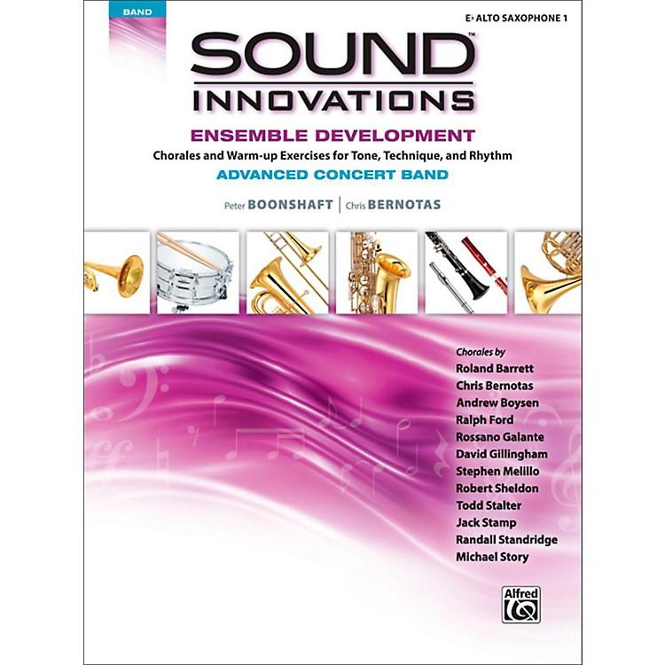 AlfredSound Innovations Concert Band Ensemble Development Advanced Alto Saxophone 1