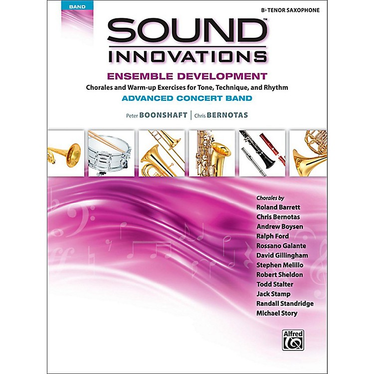 Alfred Sound Innovations Concert Band Ensemble Development Advanced Tenor Saxophone