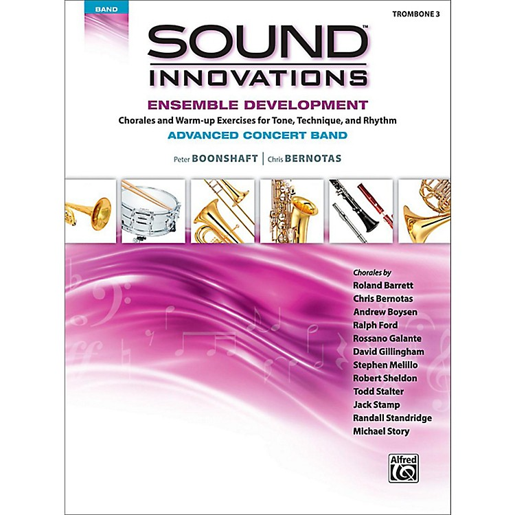 AlfredSound Innovations Concert Band Ensemble Development Advanced Trombone 3