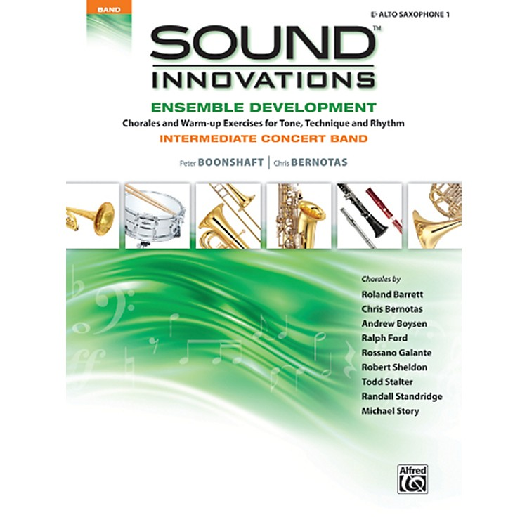 AlfredSound Innovations Concert Band Ensemble Development E Flat Alto Sax 1 Book