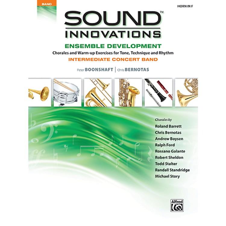 AlfredSound Innovations Concert Band Ensemble Development Horn in F Book