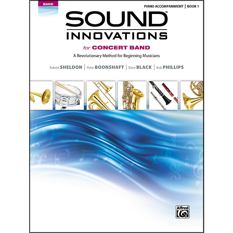 Alfred Sound Innovations for Concert Band Book 1 Piano Accom. Book