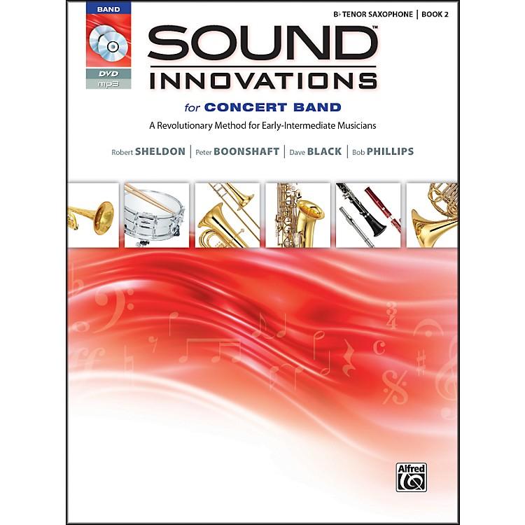 AlfredSound Innovations for Concert Band Book 2 B-Flat Tenor Sax Book CD/DVD