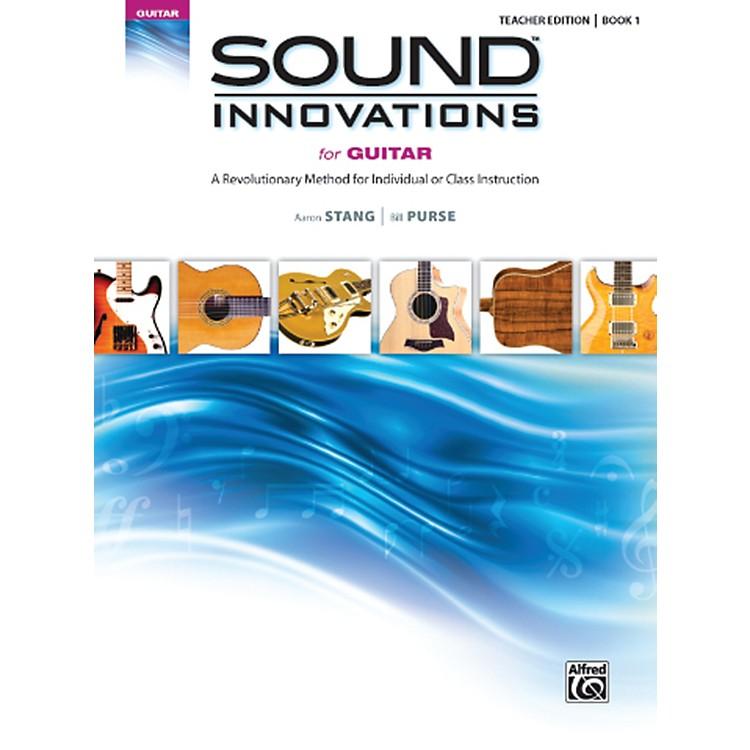 AlfredSound Innovations for Guitar Book 1 Teacher Edition