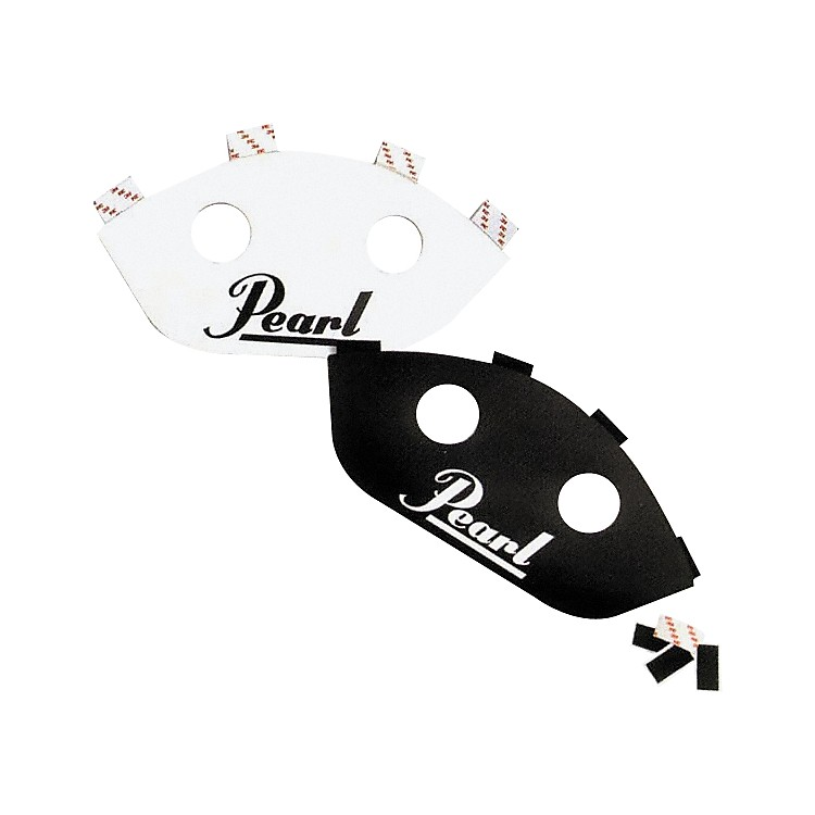 Pearl Sound Projectors for Marching Snare Drums 13 in. White