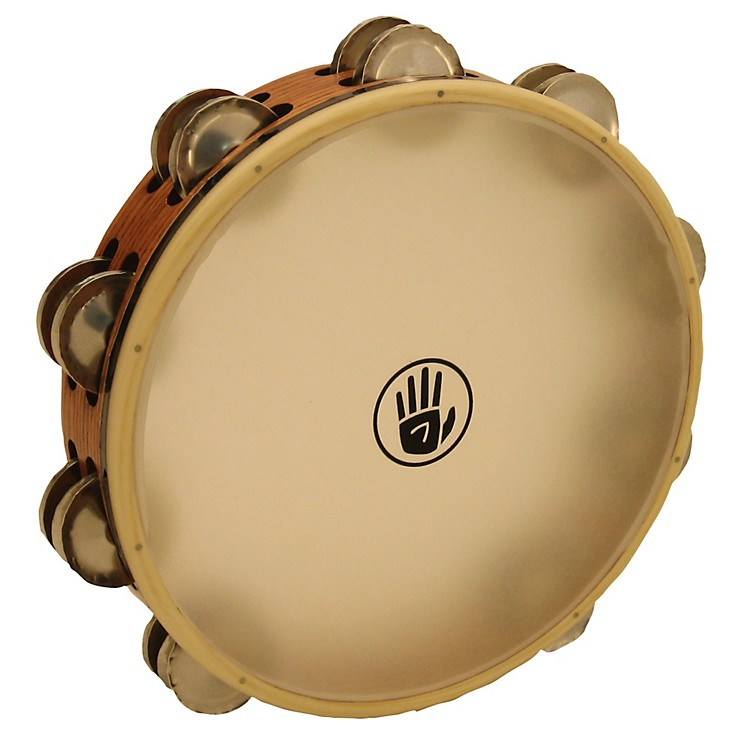 Black Swamp Percussion SoundArt Series 10 inch Tambourine Double Row with Remo Head