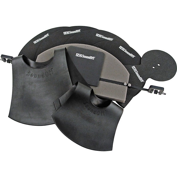 HQ Percussion SoundOff Drum and Cymbal Mute Set