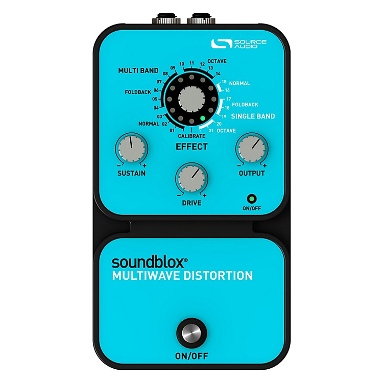 Source AudioSoundblox Multi Wave Distortion