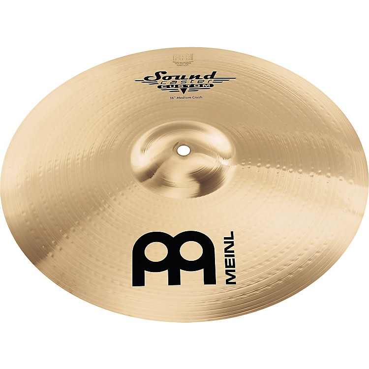 MeinlSoundcaster Custom Medium Crash Cymbal16 in.