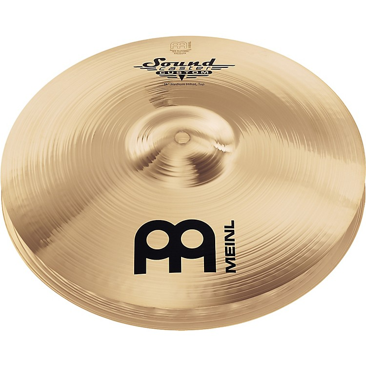 Meinl Soundcaster Custom Medium Hi-Hat Cymbals 13 in.
