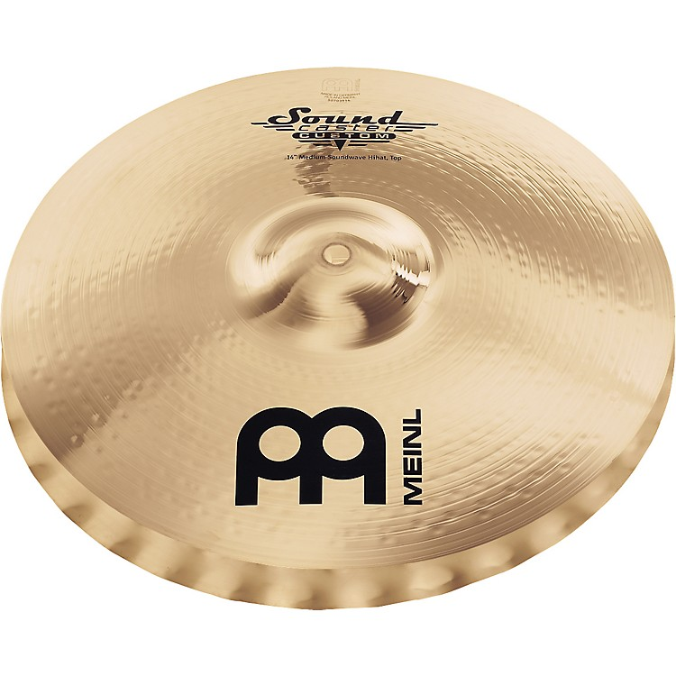 Meinl Soundcaster Custom Medium Soundwave Hi-Hat Cymbals 14 in.
