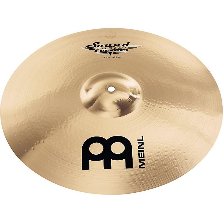 MeinlSoundcaster Custom Powerful Crash Cymbal