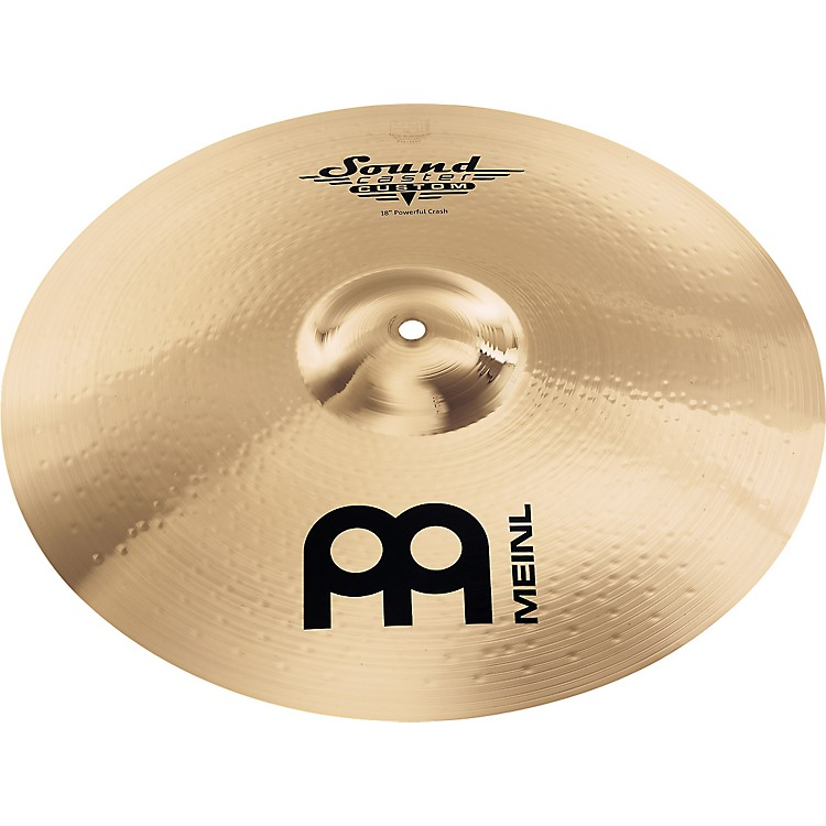 MeinlSoundcaster Custom Powerful Crash Cymbal18 in.