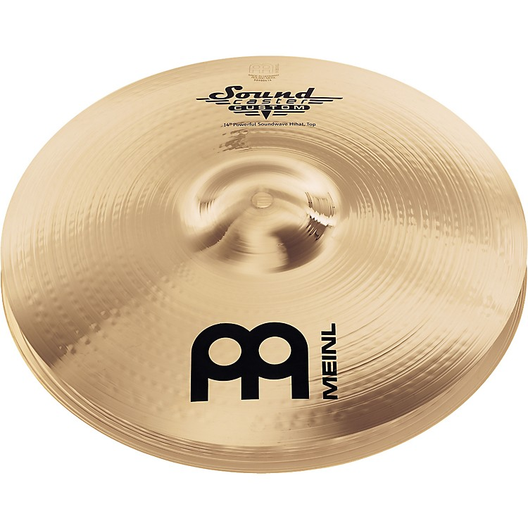 Meinl Soundcaster Custom Powerful Soundwave Hi-Hat Cymbals 14