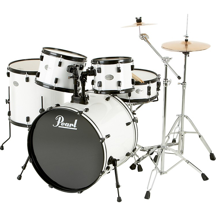 Pearl Soundcheck 5-Piece Drum Set with Zildjian Cymbals ...
