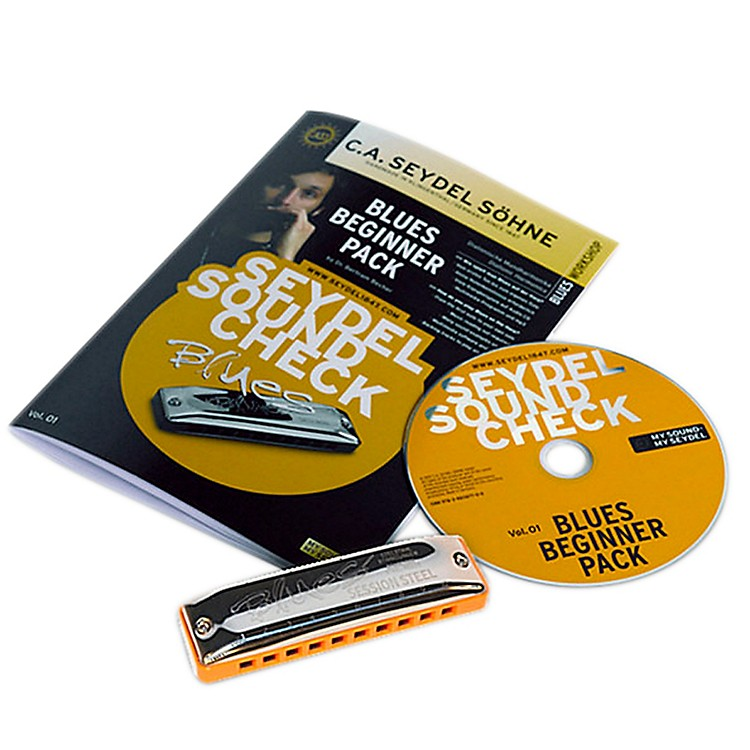 SEYDELSoundcheck Vol.1  Blues Beginner Pack with SESSION STEEL
