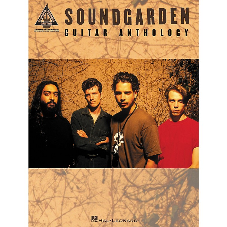 Hal Leonard Soundgarden Anthology Guitar Tab Songbook
