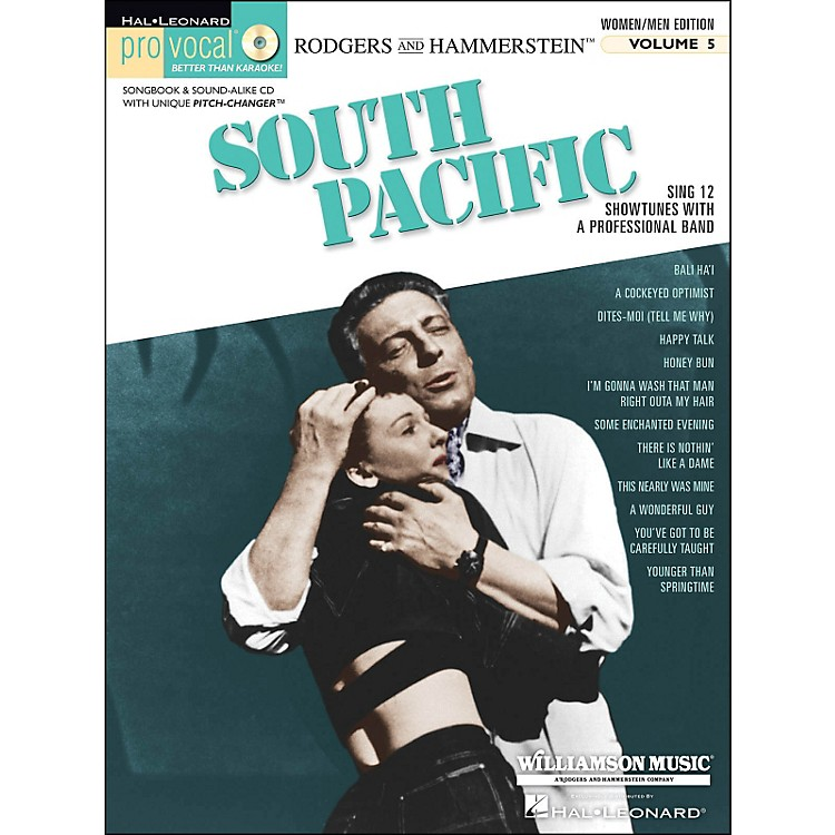 Hal Leonard South Pacific - Pro Vocal Songbook & CD for Women/Men Volume 5