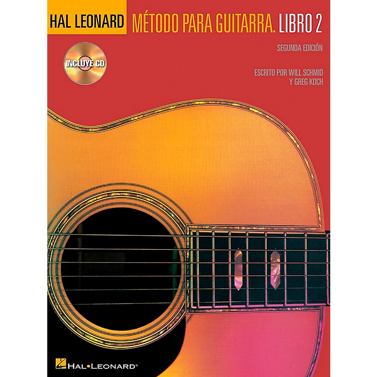 Hal LeonardSpanish Book 2 Book/CD Second Edition Hal Leonard Guitar Method