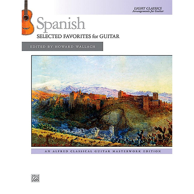 Alfred Spanish: Selected Favorites for Guitar - Book Intermediate