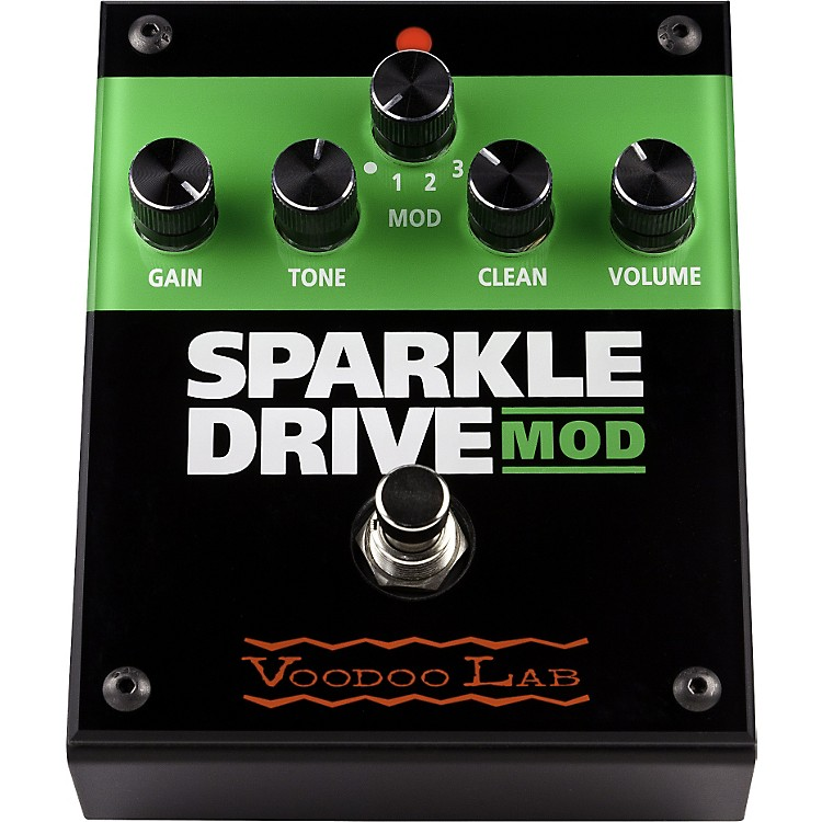 Voodoo LabSparkle Drive MOD Overdrive Guitar Effects Pedal