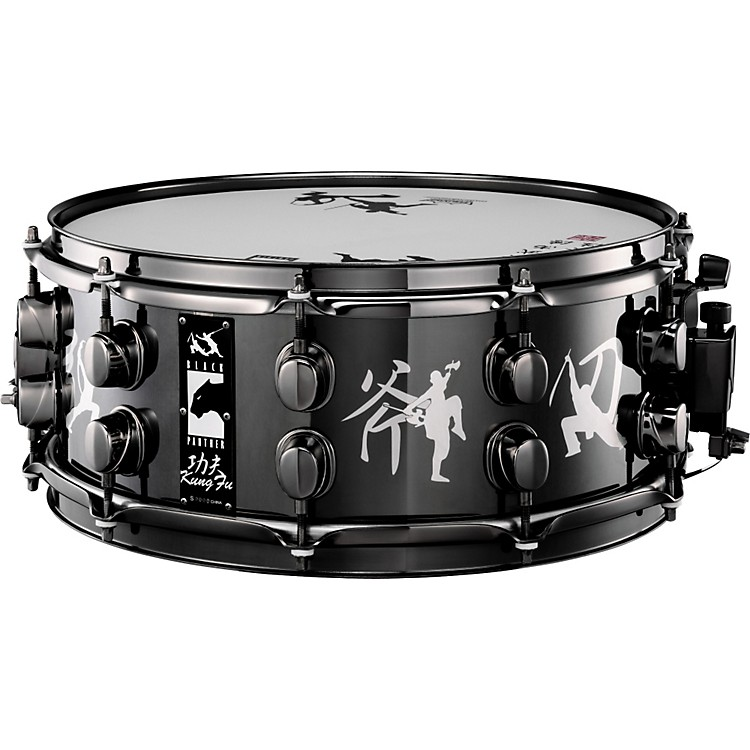 MapexSpecial Edition Black Panther Kung Fu Snare Drum