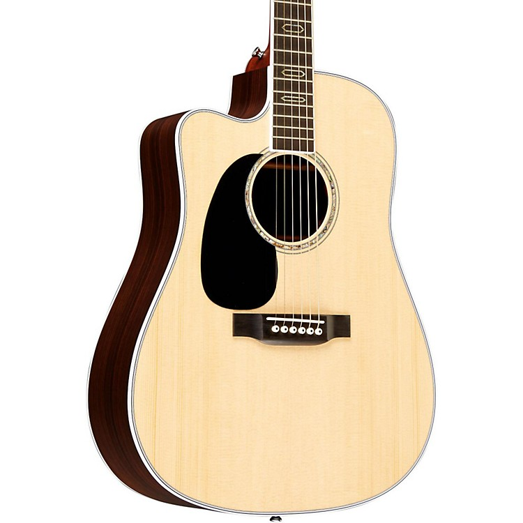 MartinSpecial Edition DC-Aura GT Cutaway Dreadnought Left-Handed Acoustic-Electric Guitar