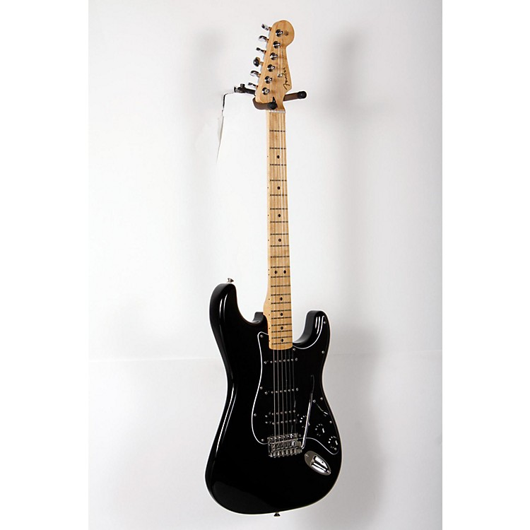 Fender Special Edition Standard Stratocaster HSS Electric Guitar Black 888365898971
