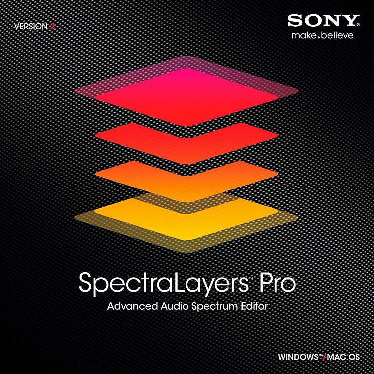 Sony SpectraLayers Pro 2 Software Download