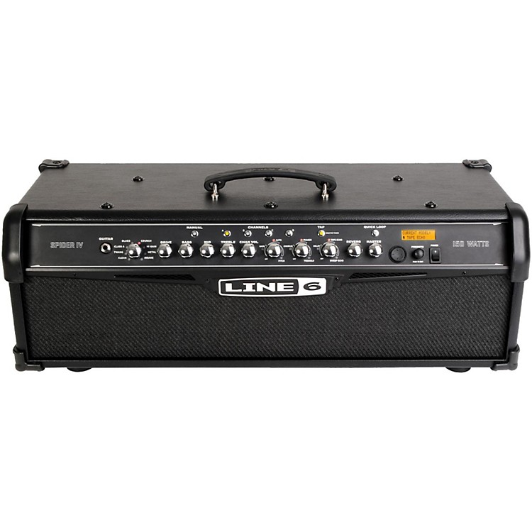Line 6 Spider IV HD150 150W Guitar Amp Head Black
