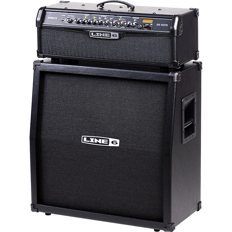 Line 6Spider IV HD150 150W and 4x12 Guitar Half Stack