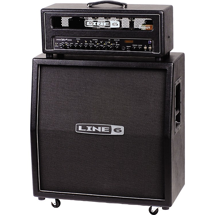 Line 6 Spider Valve HD100 MkII and 412VS Half Stack