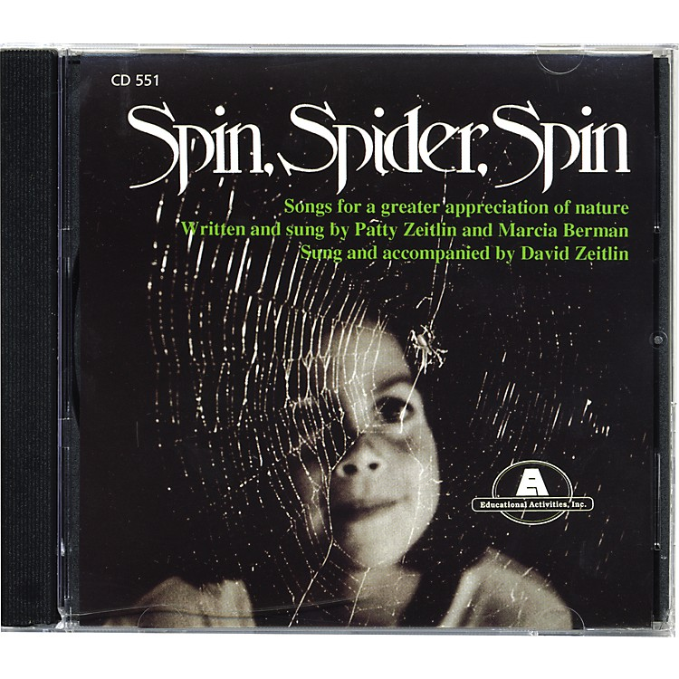 Educational Activities Spin Spider Spin CD