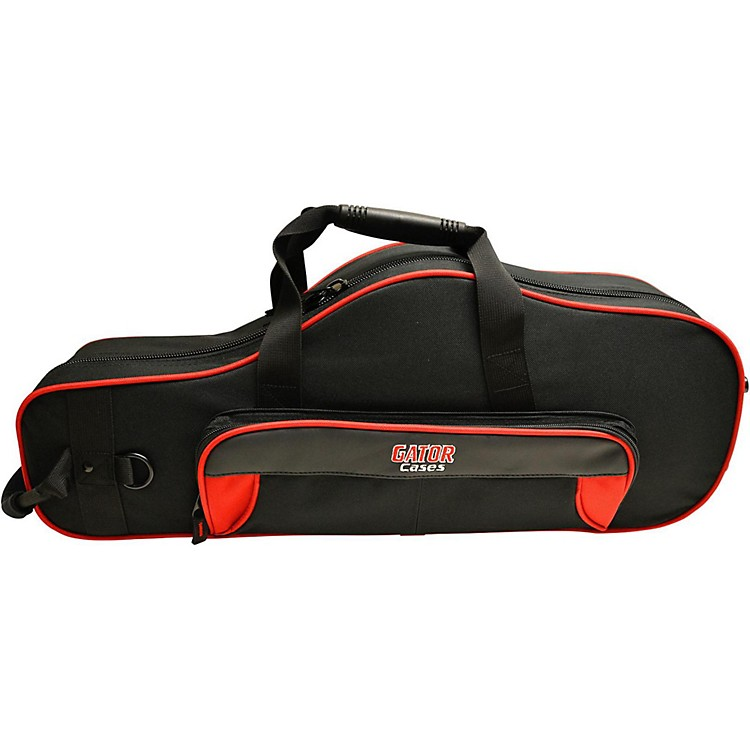 Gator Spirit Series Lightweight Alto Saxophone Case Red and Black