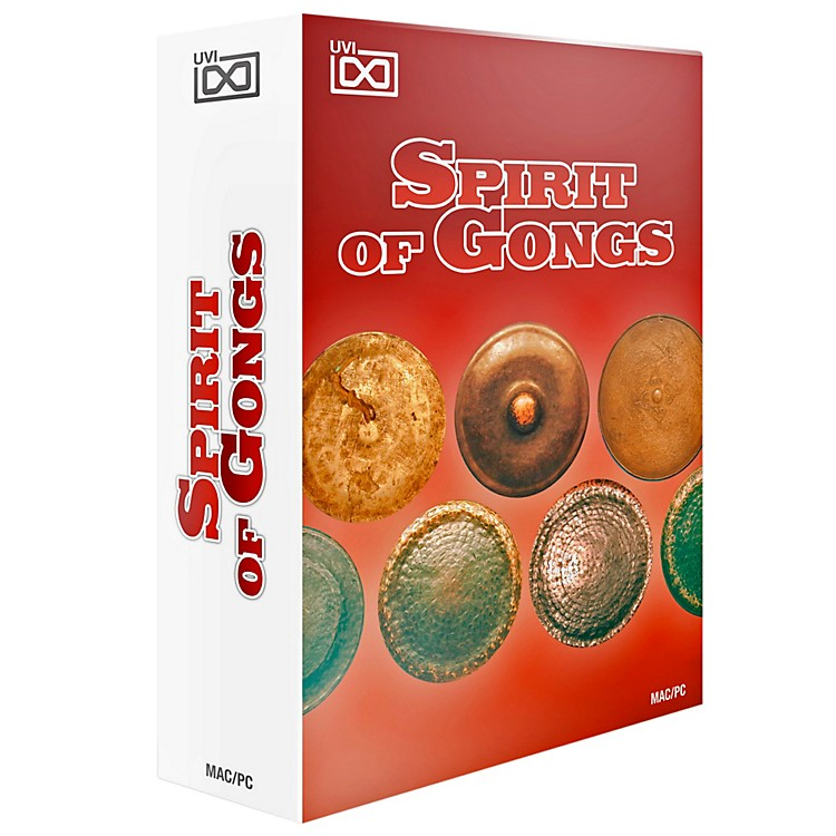UVI Spirit of Gongs Collection of Musical Gongs Software Download