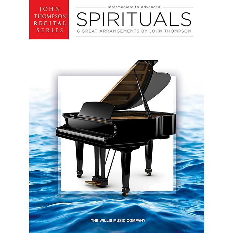 Hal LeonardSpirituals John Thompson Recital Series Intermediate to Advanced Level Piano