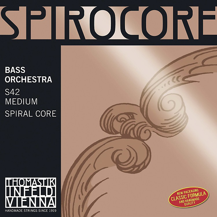 Thomastik Spirocore 4/4 Size Double Bass Strings 4/4 Solo Set